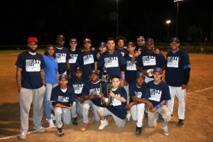 2014 Mickey Mantle League Champions - Collinwood