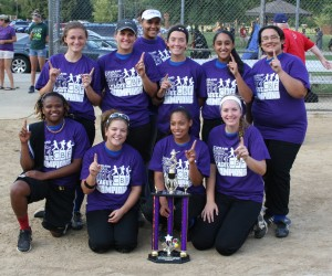 2014 Senior Girls Fast Pitch Softball League Champions - Estabrook Eagles
